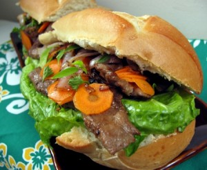 Banh-Mi Sandwich